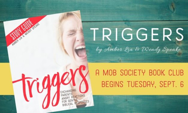 Angry Mom? Join the Triggers Book Study this Fall!
