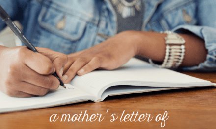 A Mother's Letter of HOPE for Her Son