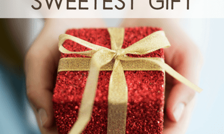 Giving Is the Sweetest Gift