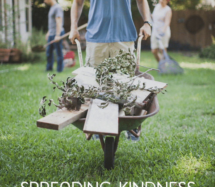 Spreading Kindness with Your Boys This Summer