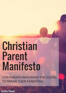 ChristianParent Manifestoa