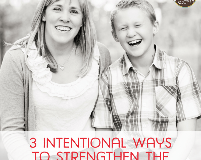3 Intentional Ways to Strengthen the Mom-Son Bond