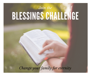 Join the 7 Day Blessings Challenge!