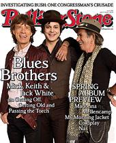 Jack White Keith Richards Mick Jagger Rolling Stone Magazine Sodwee Redcandycane