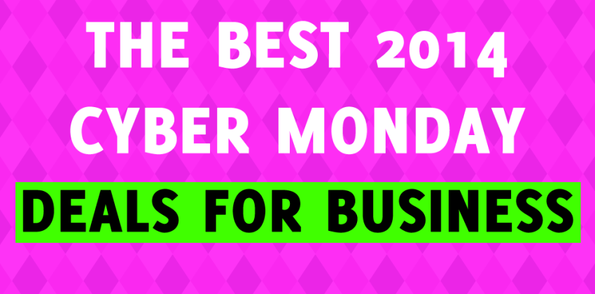 Cyber Monday Deals for Business