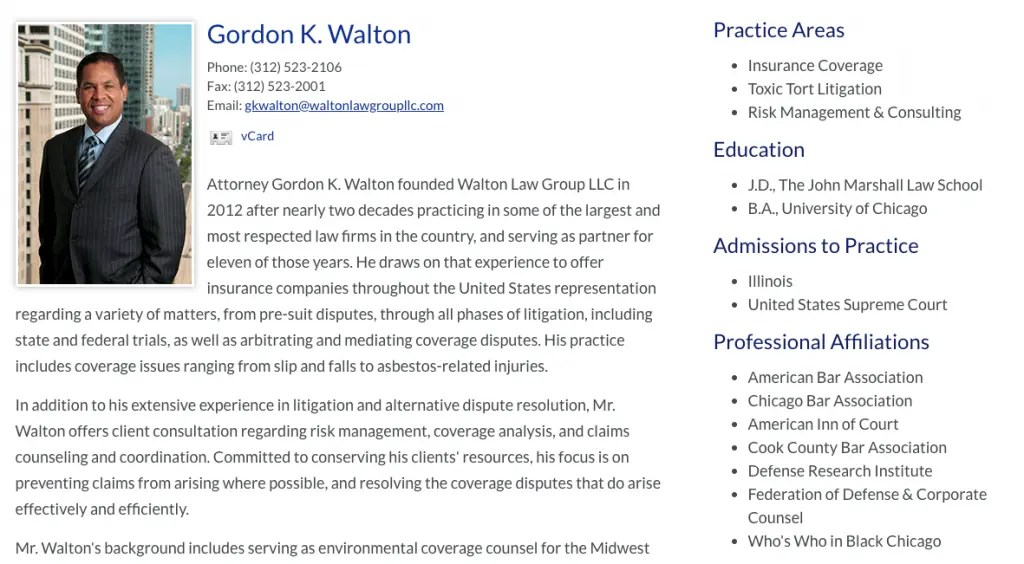 Is Your Attorney Bio Costing Your Firm Clients The