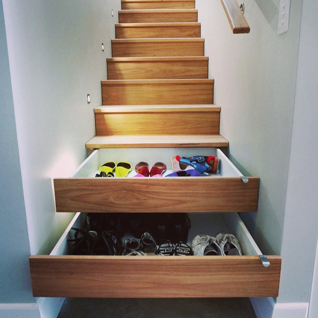 Sometimes You Need Creative Storage Solutions