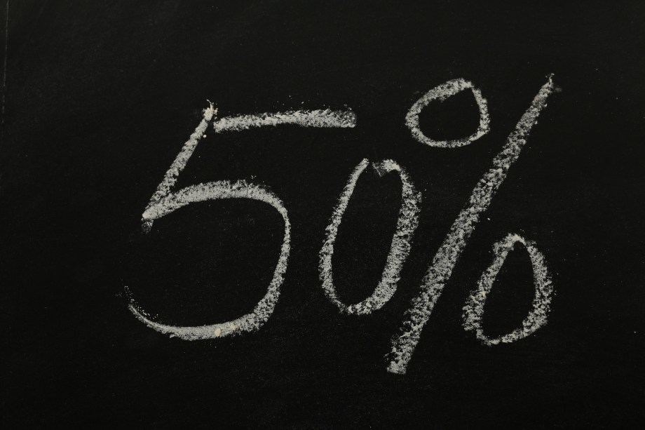 Friday Define: The 50% Rule