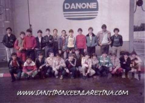 School Marketing Visita fábrica Danone años 80