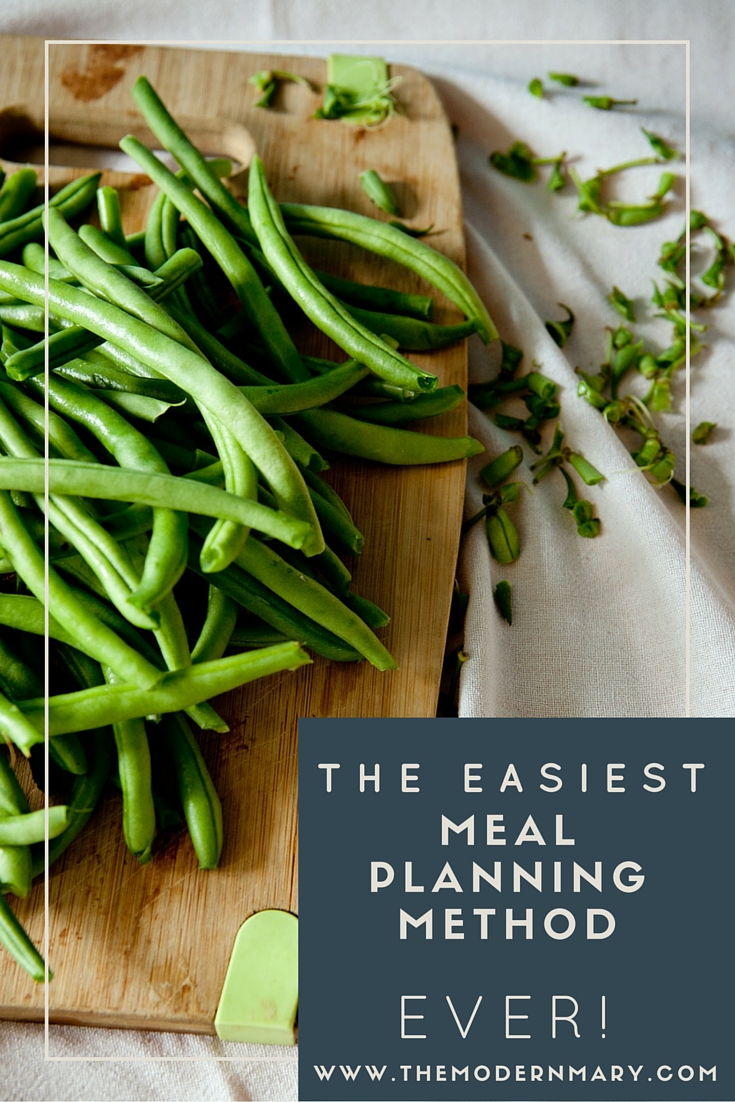 Meal planning doesn't have to be so hard! Check out the super simple meal planning system that works great for my family!