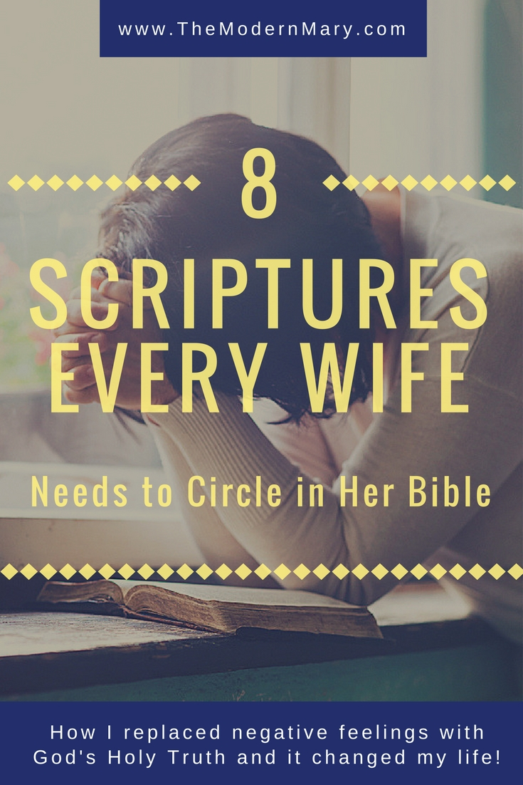 8 Scriptures Every Wife Needs to Circle in Her Bible