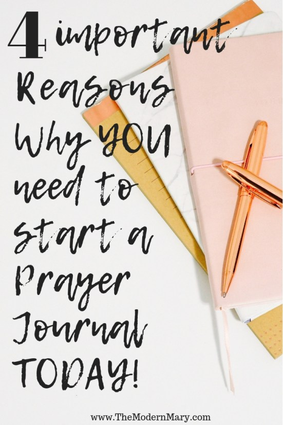 4 Important reasons why YOU need a prayer journal today!