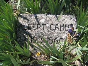Camus' gravestone