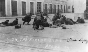 US troops in Veracruz in 1914