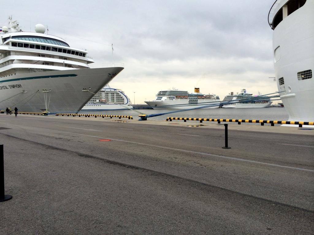 St. Petersburg ships