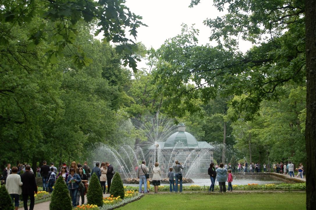 Sunburst Fountain