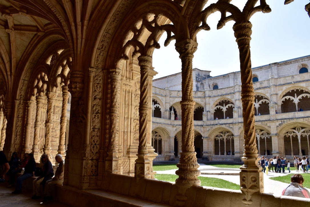 Monastery Cloister 3