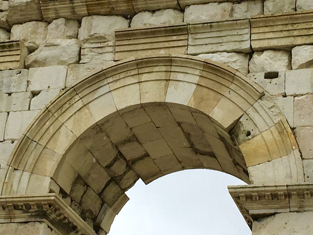 Detail of the Arc de Germanicus.