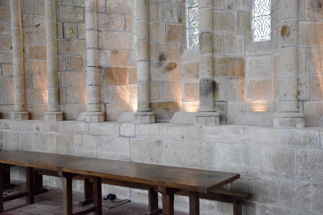 mont saint michel refectory
