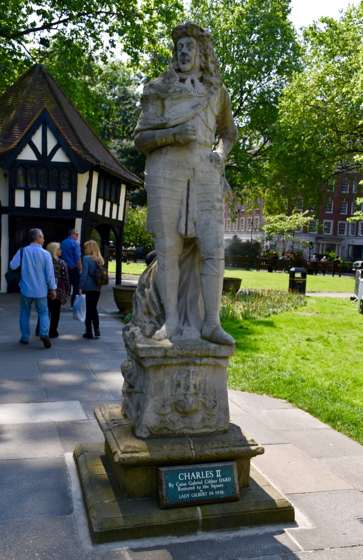 soho square charles II statue