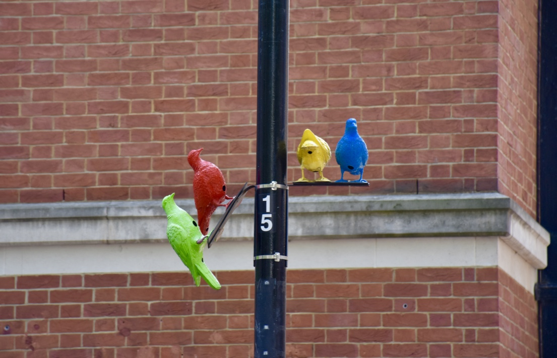 soho square pigeon sculpture