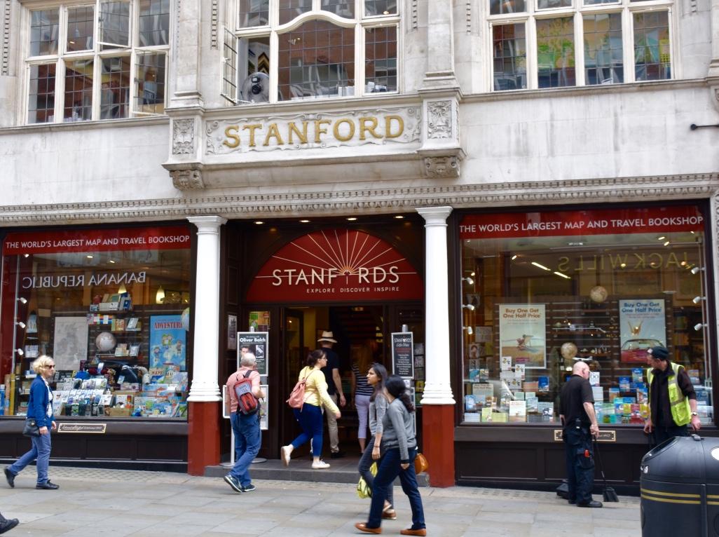 stanfords bookshop london