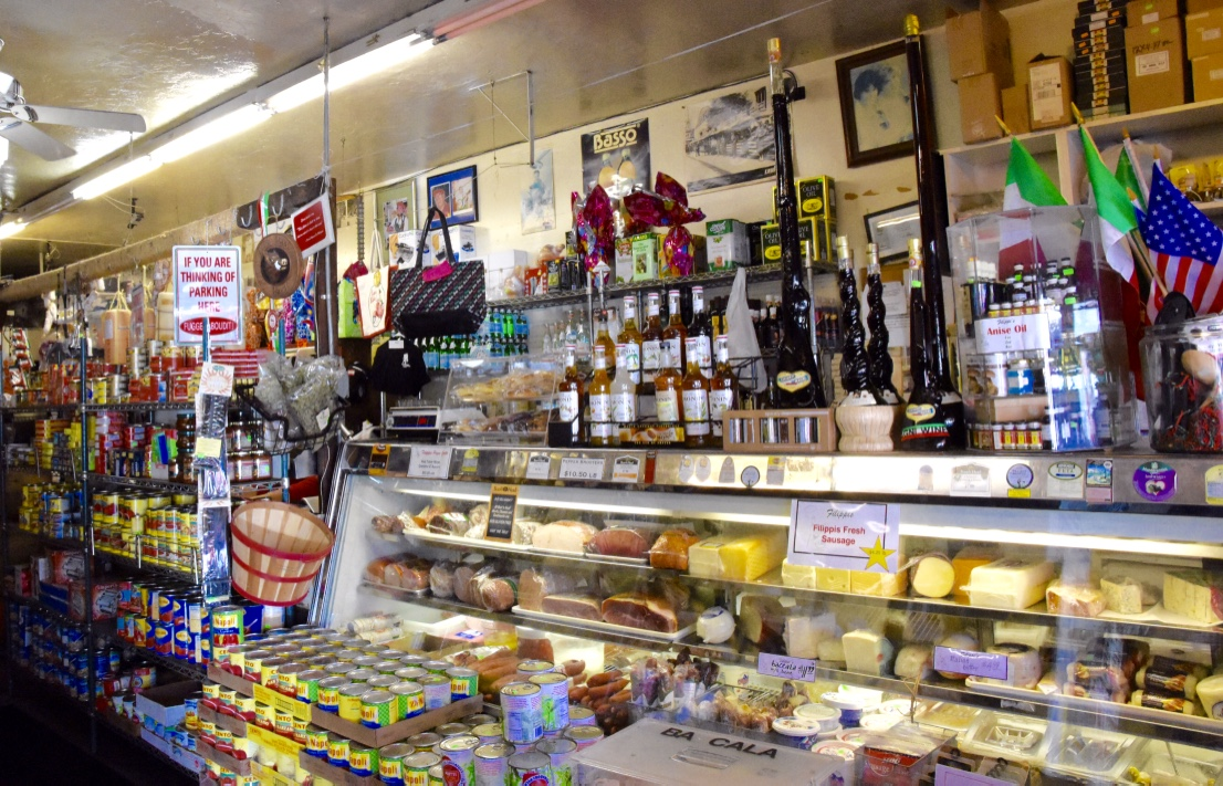 filippis deli counter little italy
