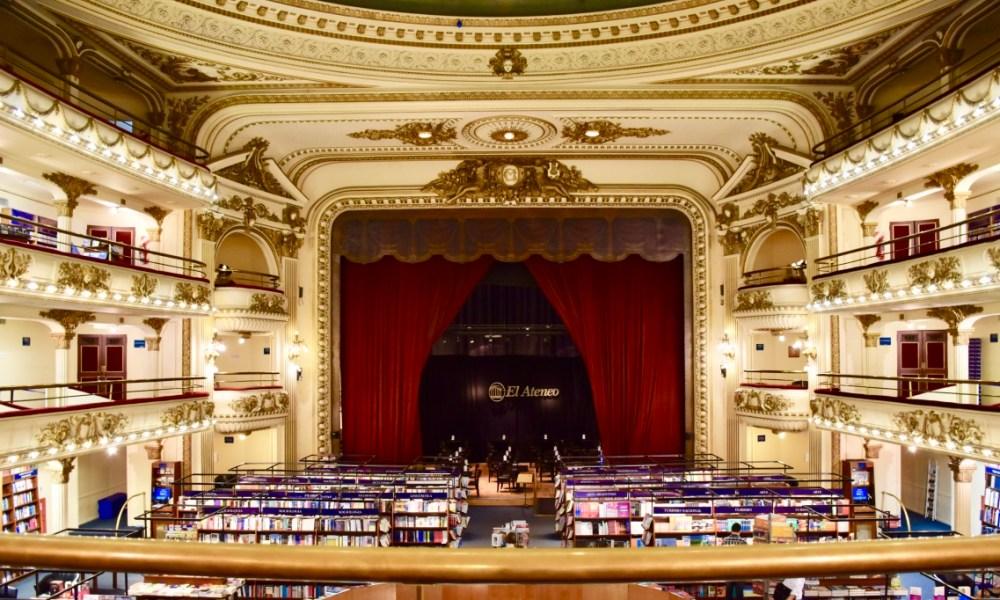 Buenos Aires Day 2: El Ateneo Grand Splendid & Teatro Colón