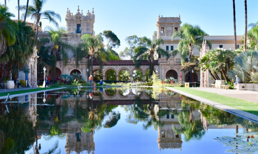 San Diego's Balboa Park: Soaking Up Spanish Architecture & Climbing California Tower