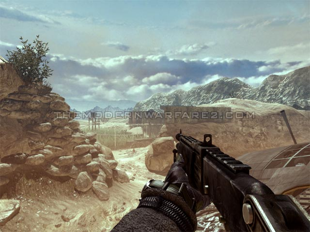 Modern Warfare 2 MW2 Xbox 360 PlayStation 3 Shotguns SPAS 12