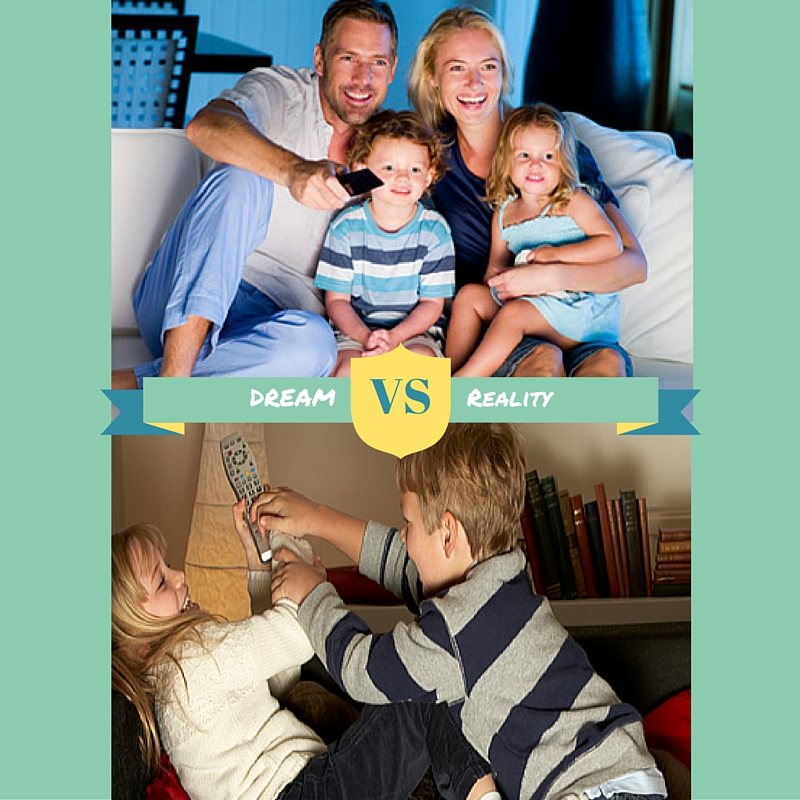 dram vs reality of kids