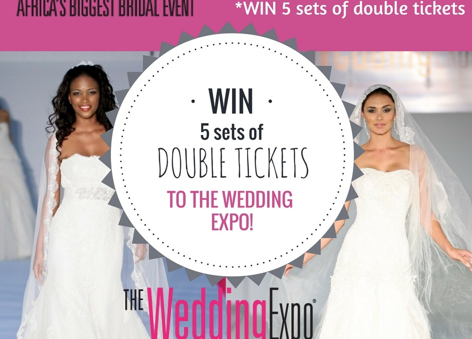 WIN One of 5 Sets of DOUBLE Tickets To The Wedding Expo! Enter HERE!