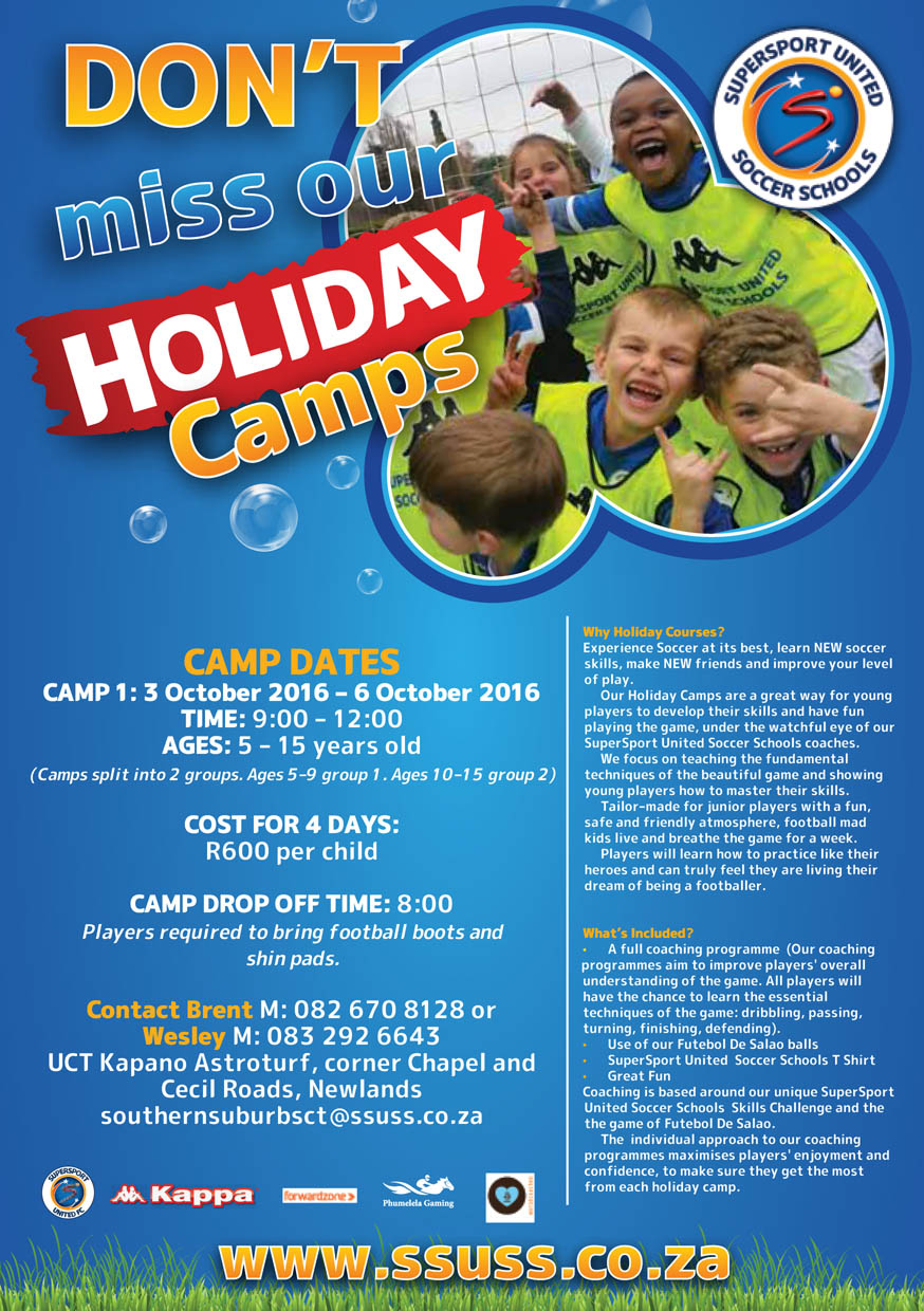 super sport united holiday camp