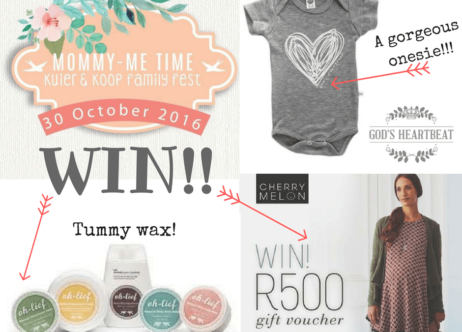 Mommy Me Time Fair PLUS *WIN a hamper worth R770!