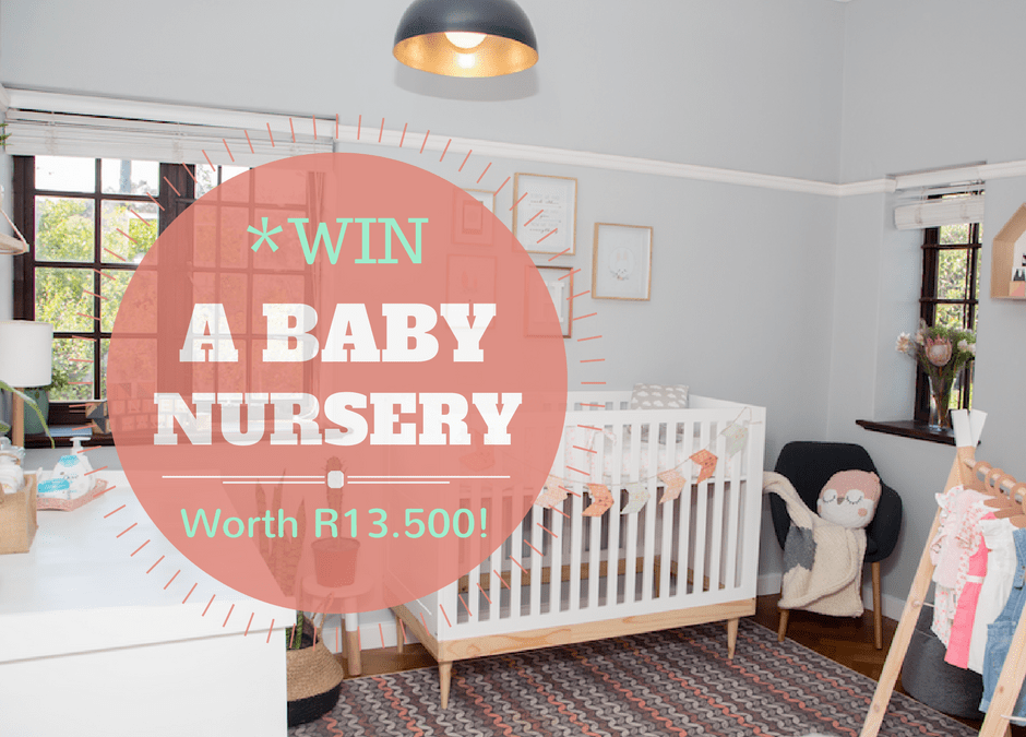Hunter's Nursery Reveal PLUS *WIN* a Nursery Hamper Worth R13.500!!