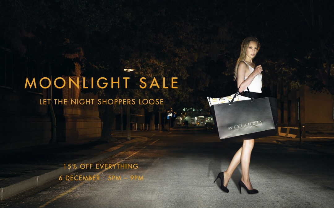 Weylandts Moonlight Shopping Experience With 15% Off!