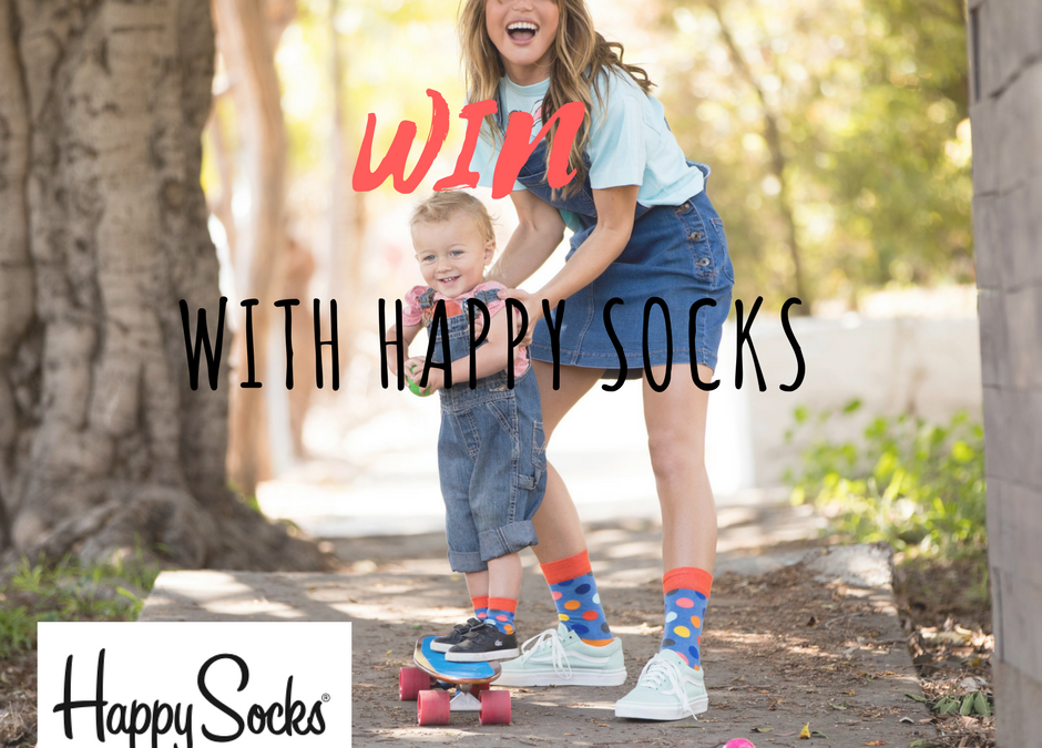 Playful & Fun HAPPY SOCKS Are Our New Fave + *WIN a KIDS Box Set!