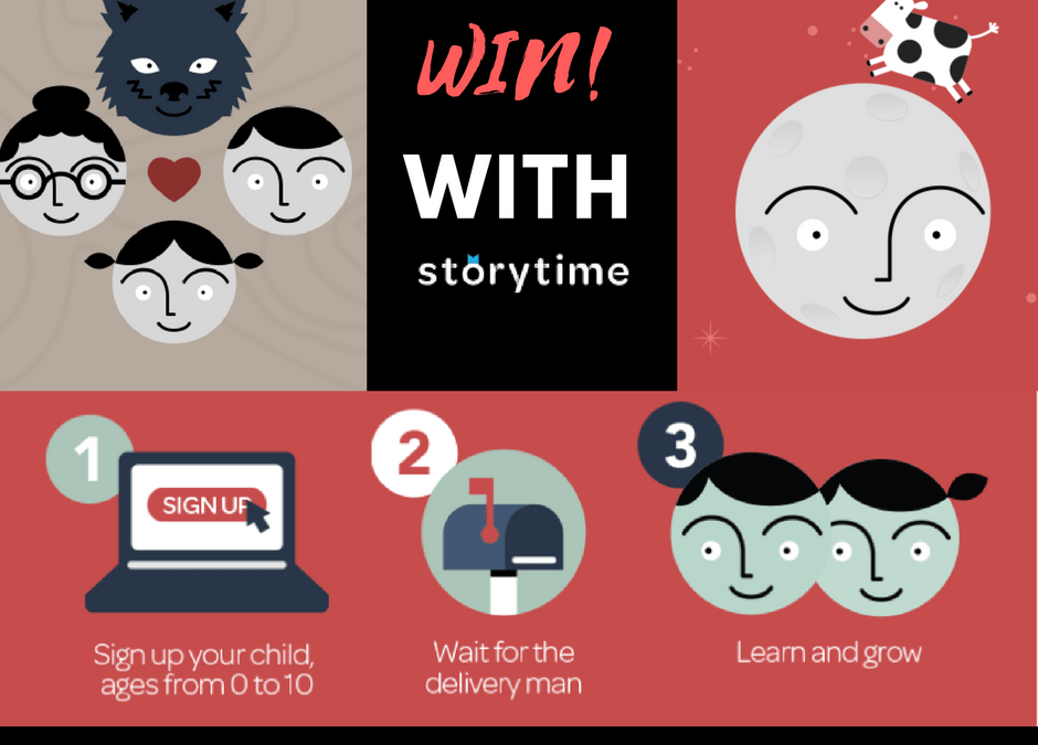 Reading Is RAD With Storytime Club + *WIN One Of THREE Subscriptions!