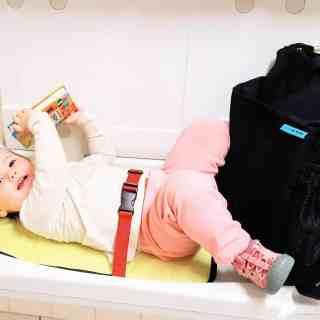 Baby Gear Review: The Baby K'Tan Diaper Bag