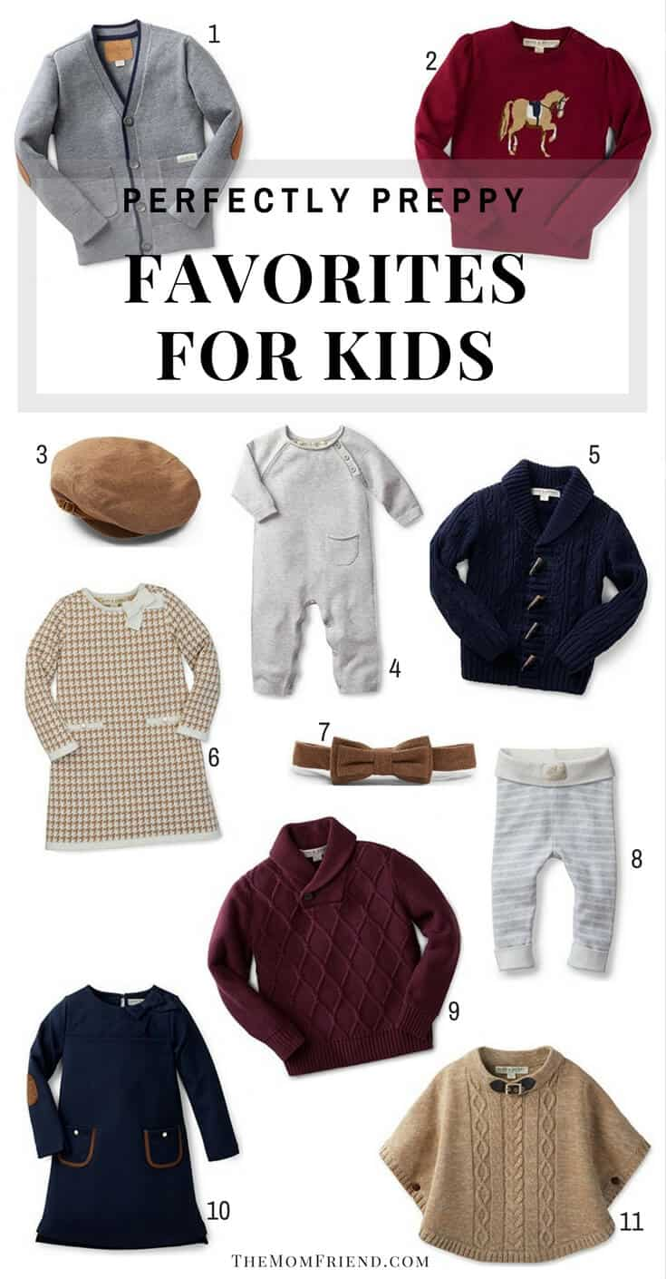 The cutest styles for kids, with a classic preppy flair. Check out these favorites for little boy and girl outfits, baby clothing, and toddler style! | Kids fashion | boy outfits | girl outfits