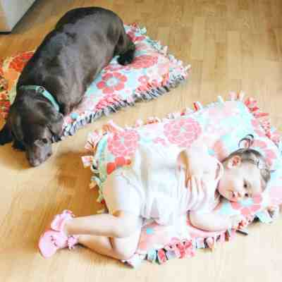 Perfect DIY Project for Dog & Baby BFFs + a Contest Announcement!