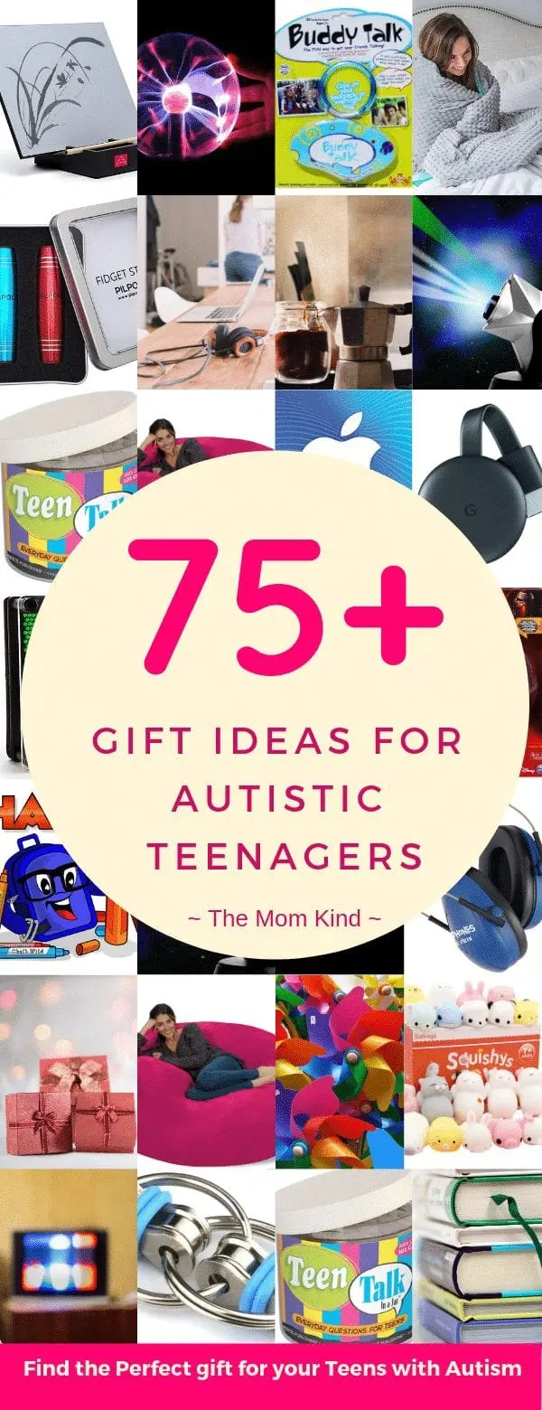 Teenagers are tough to buy for!  So what do you get a teenager with autism for Christmas or Birthdays?  Check out this Ultimate Guide of Gift Ideas for Autistic Teenagers to find the perfect gift for your child!