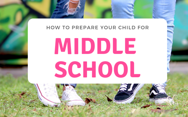 How To Prepare Your Kid To Go To Middle School