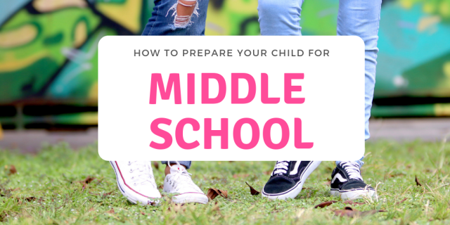 Middle School is a right of passage that all kids must go through.  Check out these tips for How to Prepare your Child for Middle School