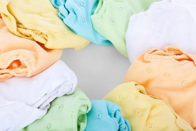 Image of different colored diaper covers