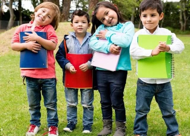 4 Children holder folders and notebooks