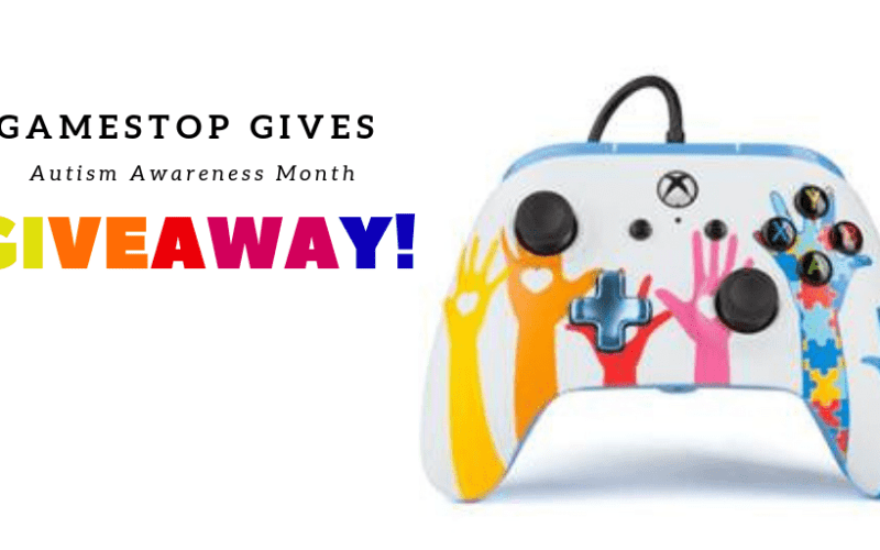 Gaming for a Cause- GameStop Gives Supports Autism Awareness Giveaway