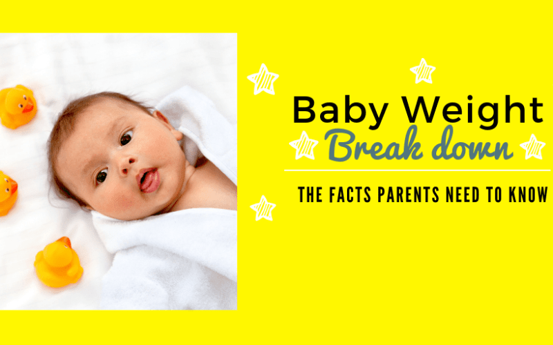 Baby Weight Breakdown| What Parents Need to know about Baby Weight