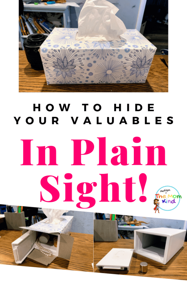 Hidden in Plain Sight! The NoSho Hidden Lockbox: What I really needed was a safe place for everything that is hidden in plain view..