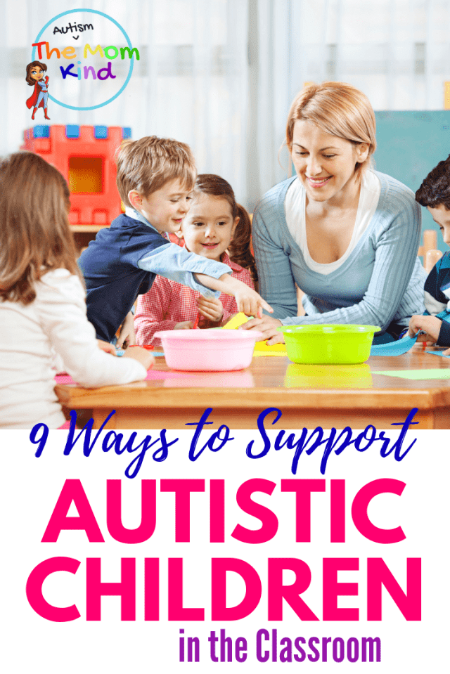 Like every child, autistic children need to be treated as individuals. When it comes to teaching, there are ways to support a child with autism in the classroom #autismsupport #autismawareness #autismparenting #teaching